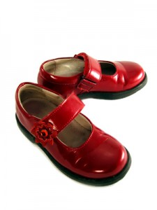 Rote Mary Janes