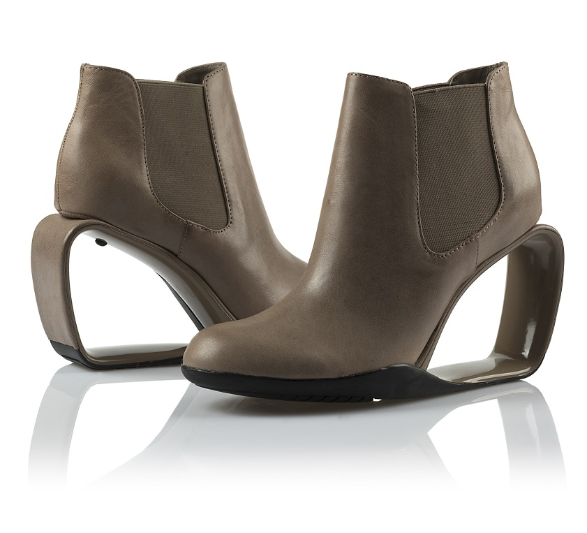 Manche Schuhabsätze passen in keine der gängigen Kategorien.
