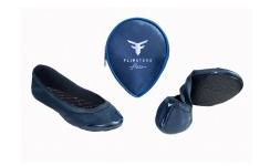 Flipsters in blau - Ballerinas