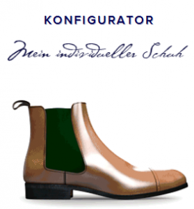 Schuhe selbst designen - Schuhkonfigurator